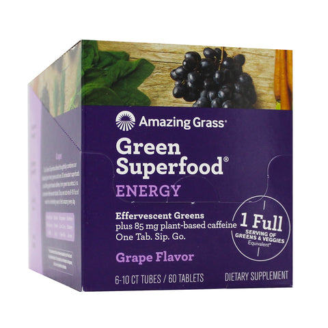Amazing Grass Effervescent Energy Grape