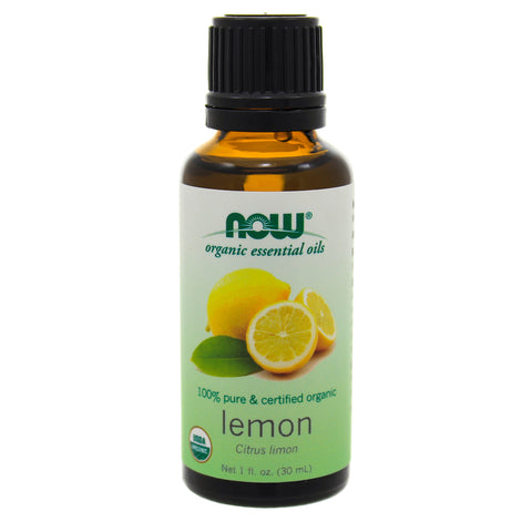 NOW Organic Lemon Essential Oil