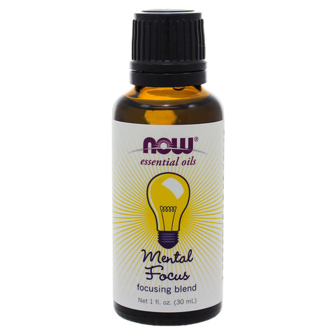 NOW Mental Focus Essential Oil Blend