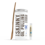 Skinny and Company Peppermint Oil Pulling Coconut Oil Kit