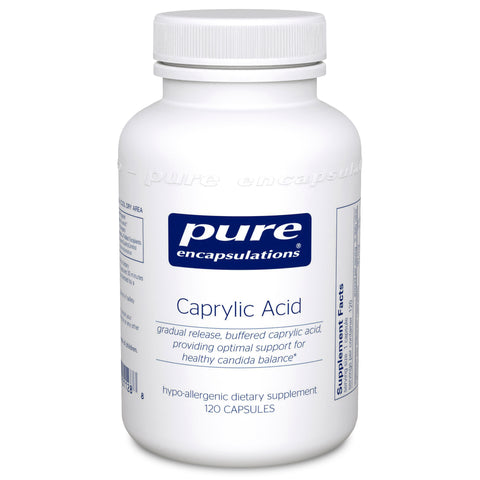 Pure Encapsulations Caprylic Acid