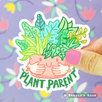 Turtle's Soup - Plant Parent Vinyl Sticker