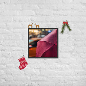 Framed poster / - Umbrella - Exceptional Normalcy