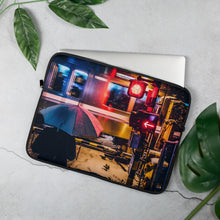 Laptop Sleeve - Snowy night in Tokyo 01 / Exceptional Normalcy