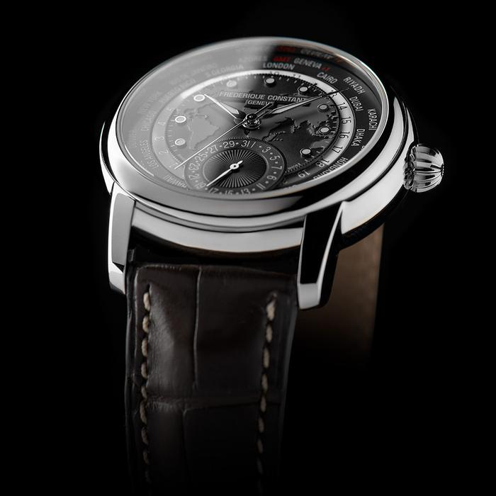 NEW DARK GREY CLASSIC WORLDTIMER MANUFACTURE VARIATION