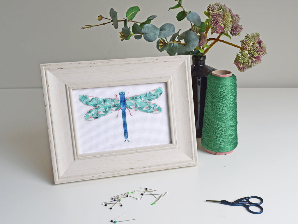 How to mount your stitching in a frame – Bobo Stitch | Modern cross ...