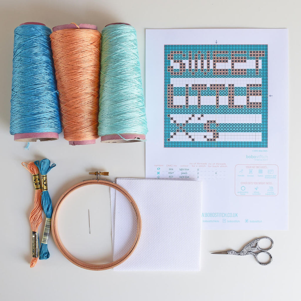 Things you'll need to cross stitch