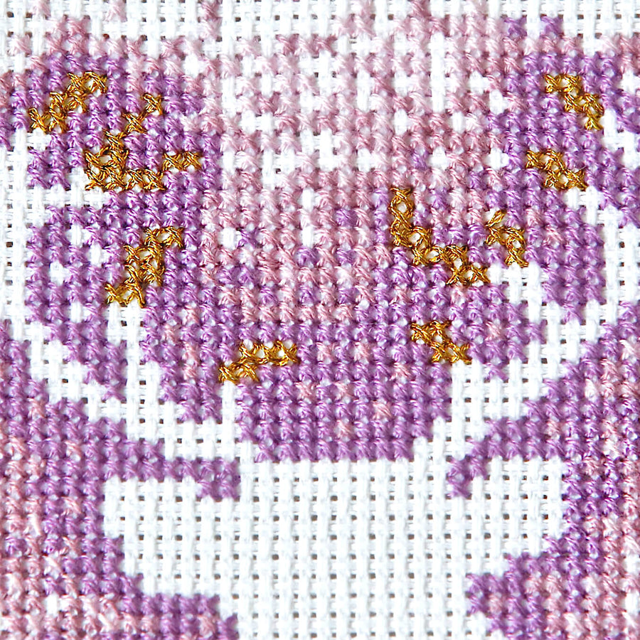 Stag cross stitch pattern