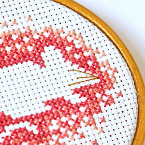 Mouse cross stitch PDF pattern