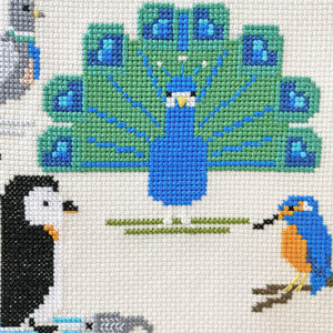 PDF patterns only - Feed The Birds - Stitch-a-Long Club
