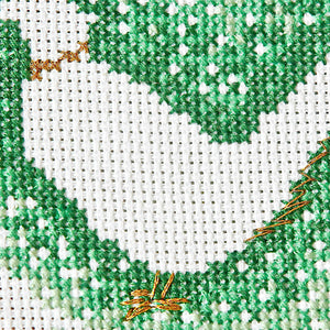 Pheasant modern cross stitch pattern