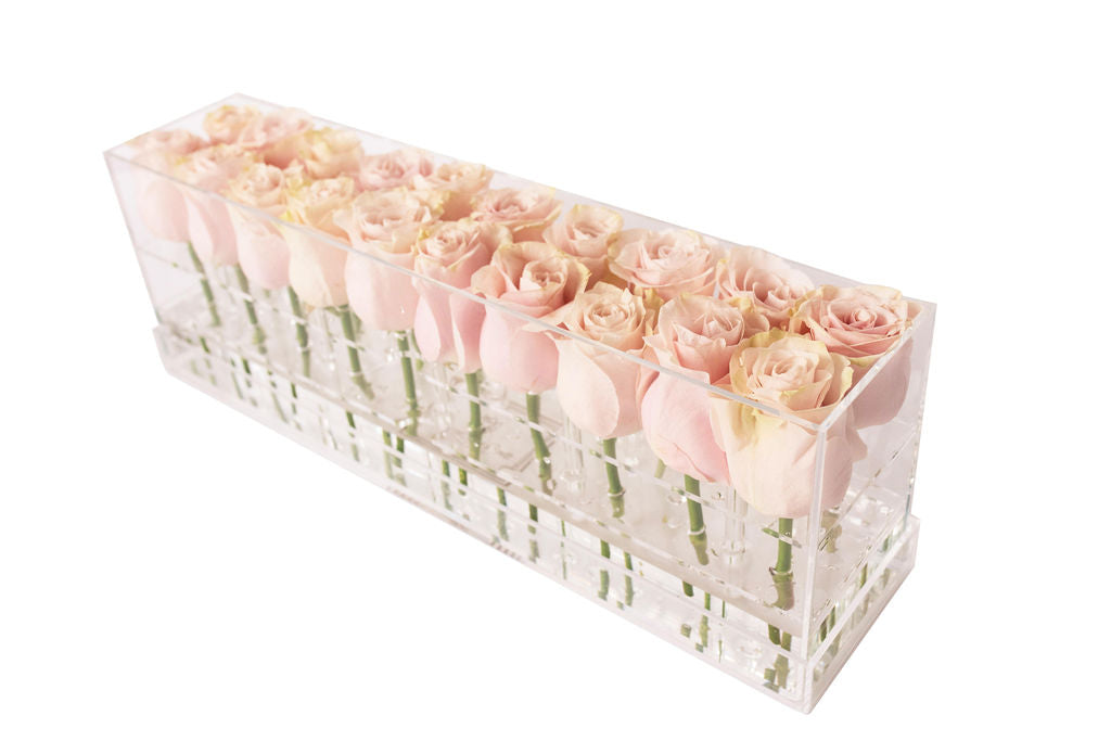 Fresh Rose Box Light Pink