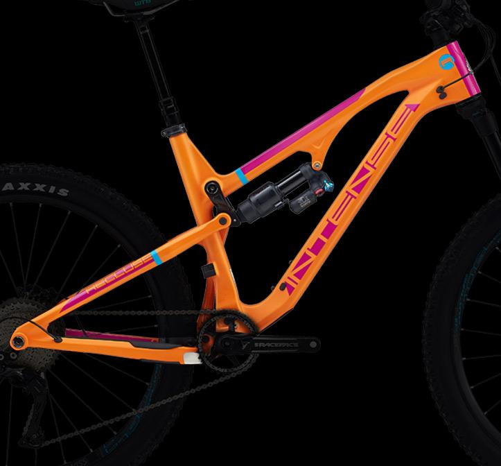 2017 RECLUSE ORANGE FRAME & SHOCK