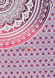 Pink Purple Ombre Indian Mandala Tapestry Bohemian Hippie Wall Hanging Twin Single Throw Bed Sheet