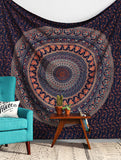 Tapestry Mandala Queen Wall Hanging Decor Indian Hippie Bedspread Throw Bohemian