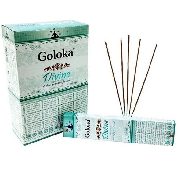 Goloka Divine Incense Sticks 16gms x 12 packs = 192gms