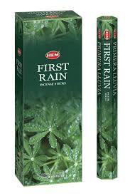 Hem FIRST RAIN Incense Bulk 6 x 20 Stick (120 Sticks)