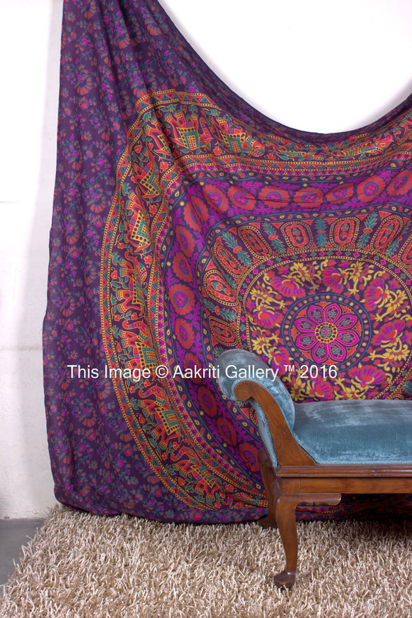 Mandala Tapestry Indian Wall Hanging Home Living Room Decor Bed sheet 92x82