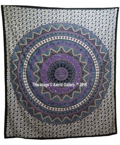 6 Color White Star Double Wall Tapestries Throw Tapestry Queen Size