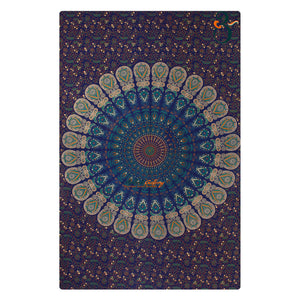 Single Tapestry Mandala New More Turquoise White Outer Tapestry Elephant Hippie Wall Hanging Bohemian Bedspread Throw