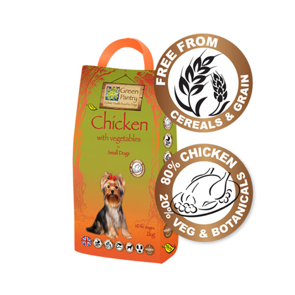 Green Pantry Chicken with Veg for Small Dogs - 2kg