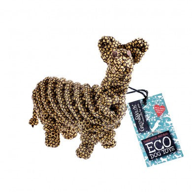 Lionel the Llama Eco Dog Toy
