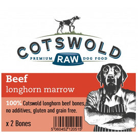 Cotswold Beef Longhorn Marrow Bone x 2
