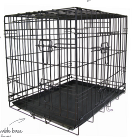 Pet Gear Fold Flat Crate - Medium