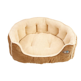 "Royan Snuggle Bed - 28"" Beige"