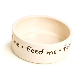 "Feed Me Ceramic Bowl - 6"" 15cm"
