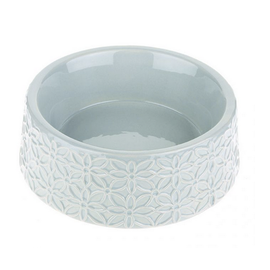 Flora Pet Bowl (Grey)