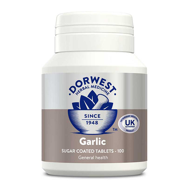 Garlic Tablets For Dogs And Cats - 100 Tablets