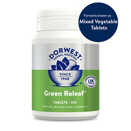 Dorwest Green Releaf 500 Tablets