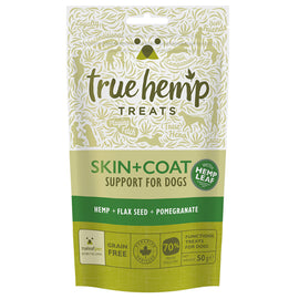 True Hemp Skin & Coat Treats x 50g