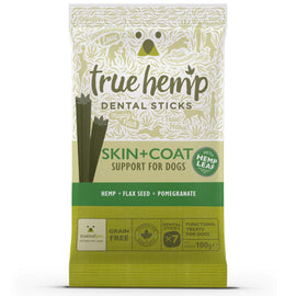 True Hemp Skin & Coat Dental Sticks x 100g