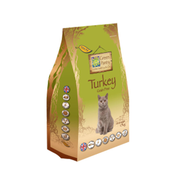 Green Pantry Turkey for Cats - 1.5kg