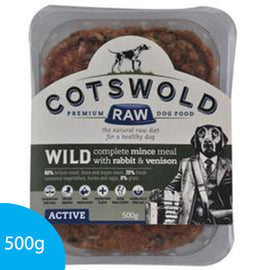 Wild Mince with Rabbit & Venison (Complete) - 500g
