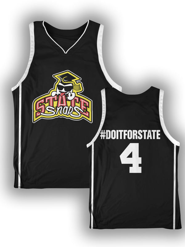 Limited Edition - #DOITFORSTATE Basketball Jersey