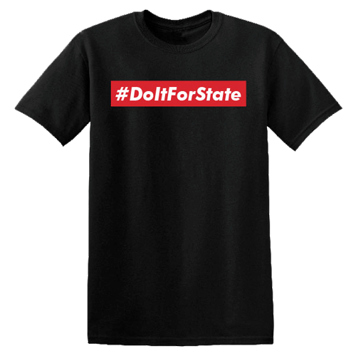 # Do It For State Short Sleeve T-Shirt