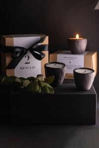 "Soy wax scented candle ""Nr.4 URANUS"""