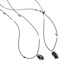 Load image into Gallery viewer, MOLECULE in aqua porcelain necklace - bracelet