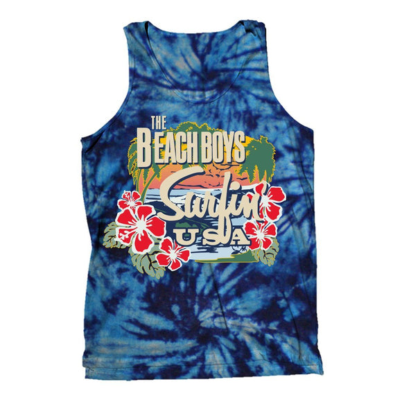 THE BEACH BOYS | SURFING TIE DYE TANK TOP