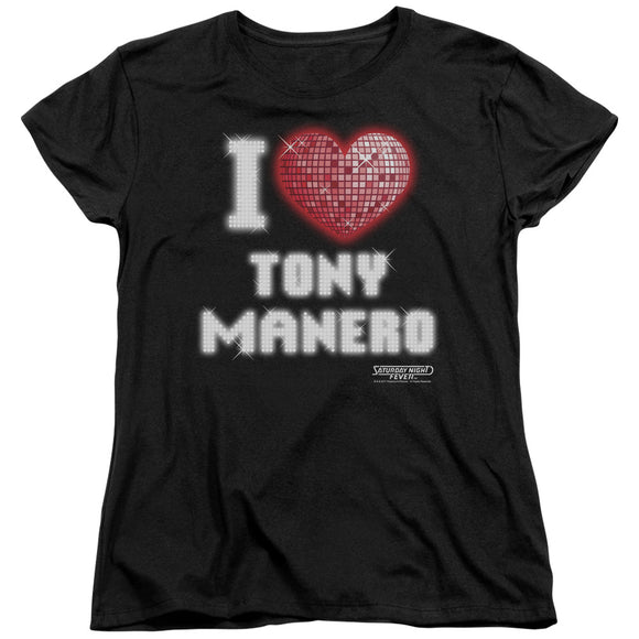 I Heart Tony Short Sleeve Women's Tee