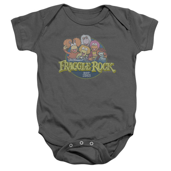 Infant Fraggle Rock - Circle Logo Onesie