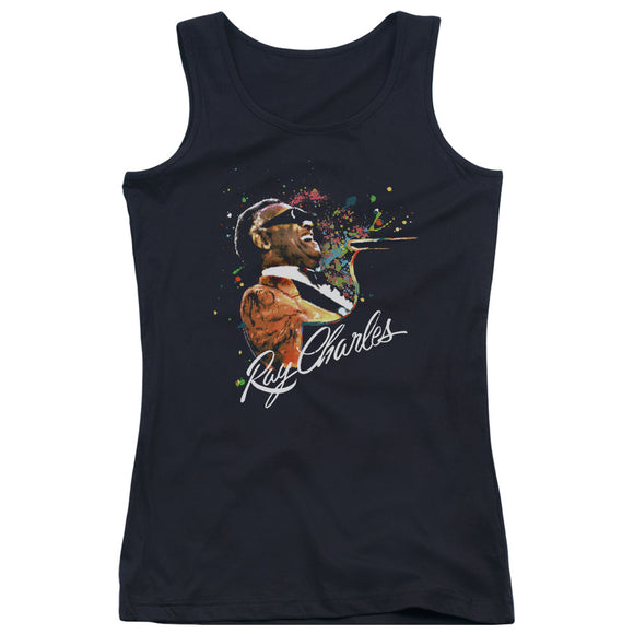 Ray Charles - Soul Women's Juniors Tank Top
