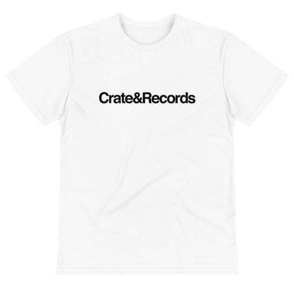 Crate&Records White Tee
