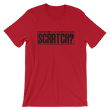 WHAT IS A DJ IF HE CAN'T SCRATCH? Tee