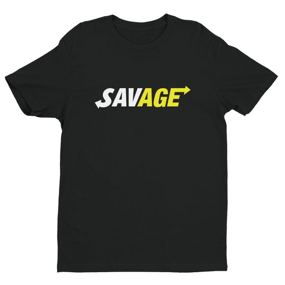 SAVAGE. Release Your Inner Savage! (White & Yellow)