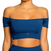 St. John Rib Crop Tee - KRAHS | More than a swimwear