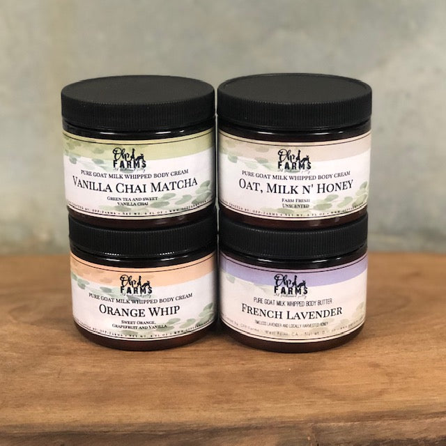 Hydrating Body Butter, Goat Milk